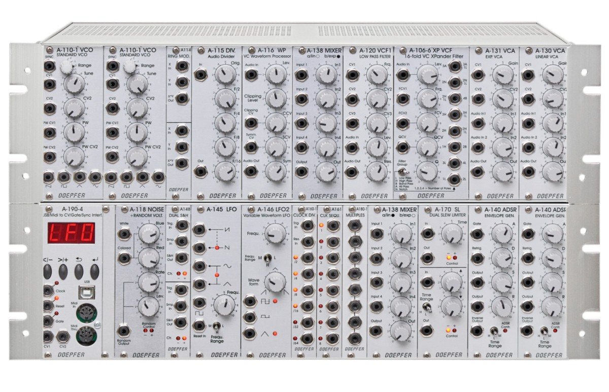 Doepfer A 100 Basis System 2 G6 PSU3