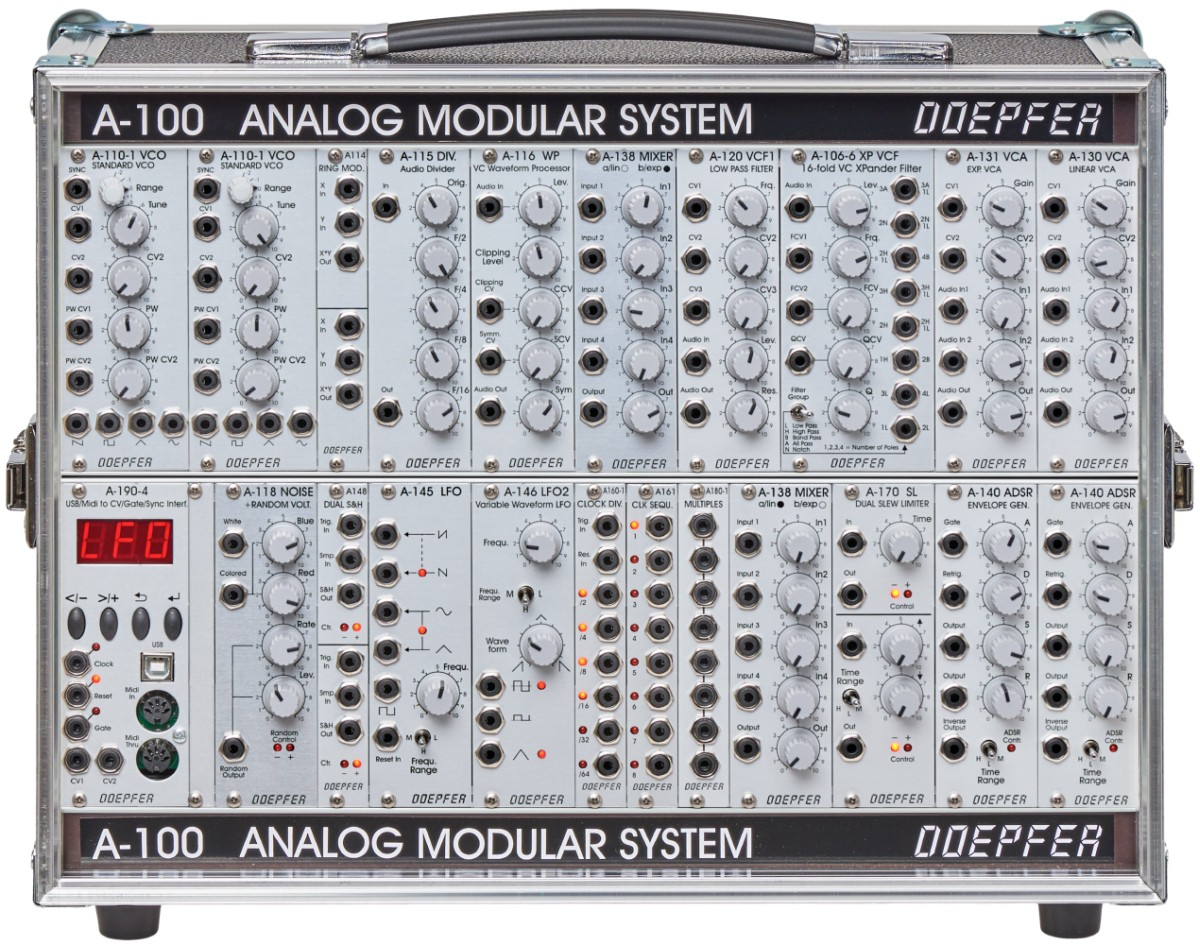 Doepfer A 100 Basis System 2 P6 PSU3