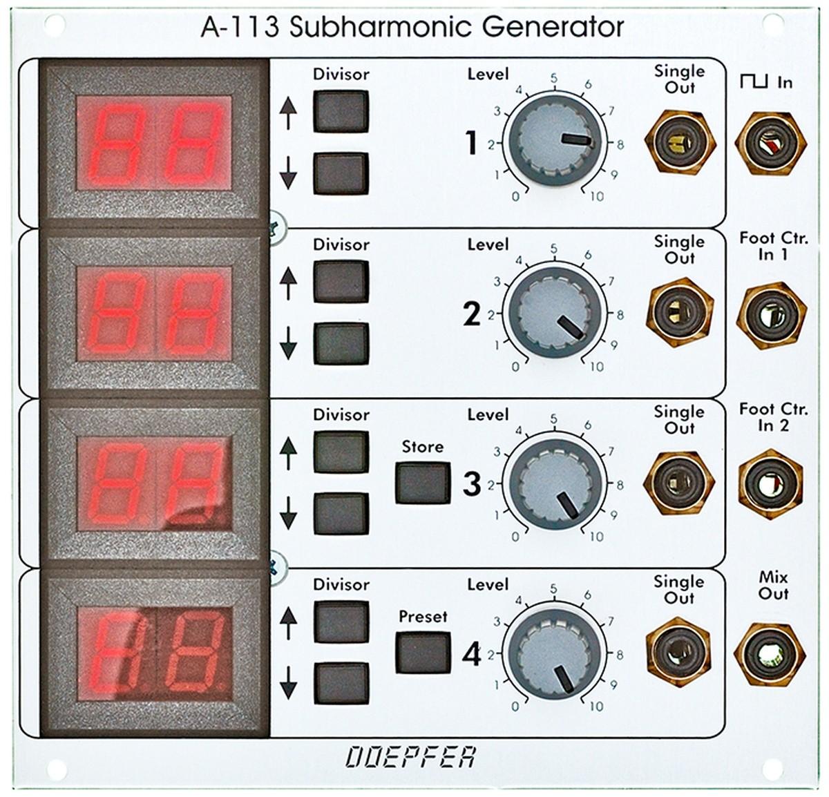 Doepfer A 113 Subharmonic Generator