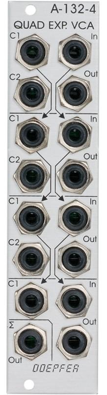 Doepfer A 132 4 Quad xponential VCA Mixer