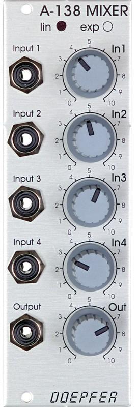 Doepfer A 138b Mixer logarithmic