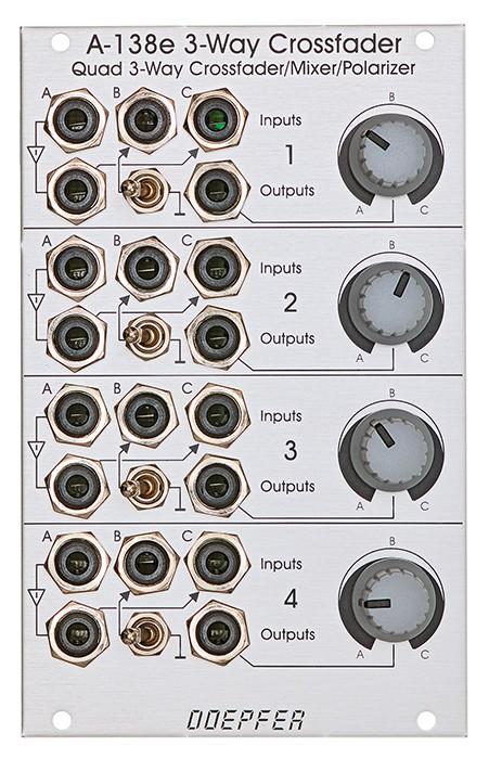 Doepfer A 138e Quad 3Way Xfade Mix  Polarizer