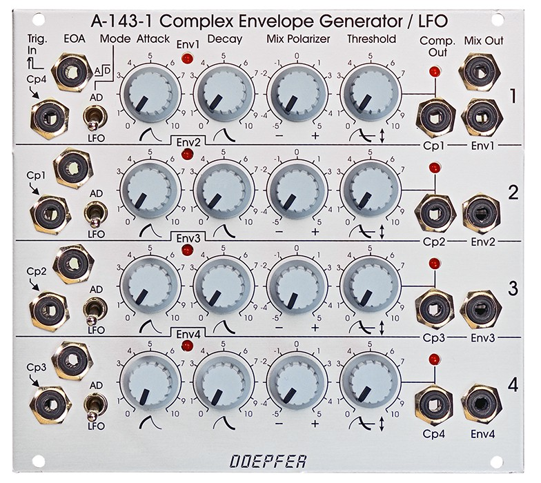 Doepfer A 143 1 Quad AD Generator