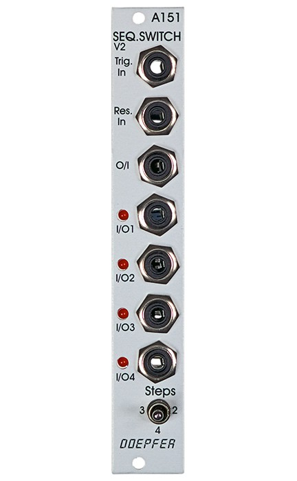 Doepfer A 151 Quad Sequential Switch