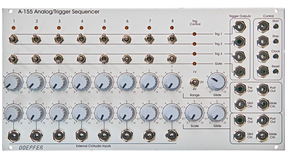 Doepfer A 155 Analog Trigger Sequencer