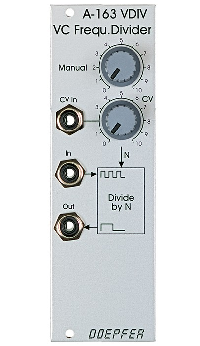 Doepfer A 163 VC Frequency Divider