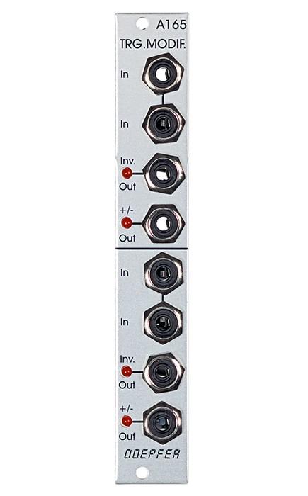 Doepfer A 165 Dual Trigger Inverter  Modifier