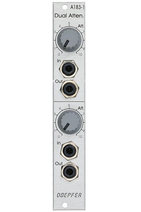 Doepfer A 183 1 Dual Attenuator