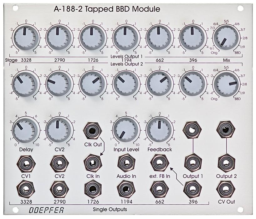 Doepfer A 188 2 Tapped BBD Modul