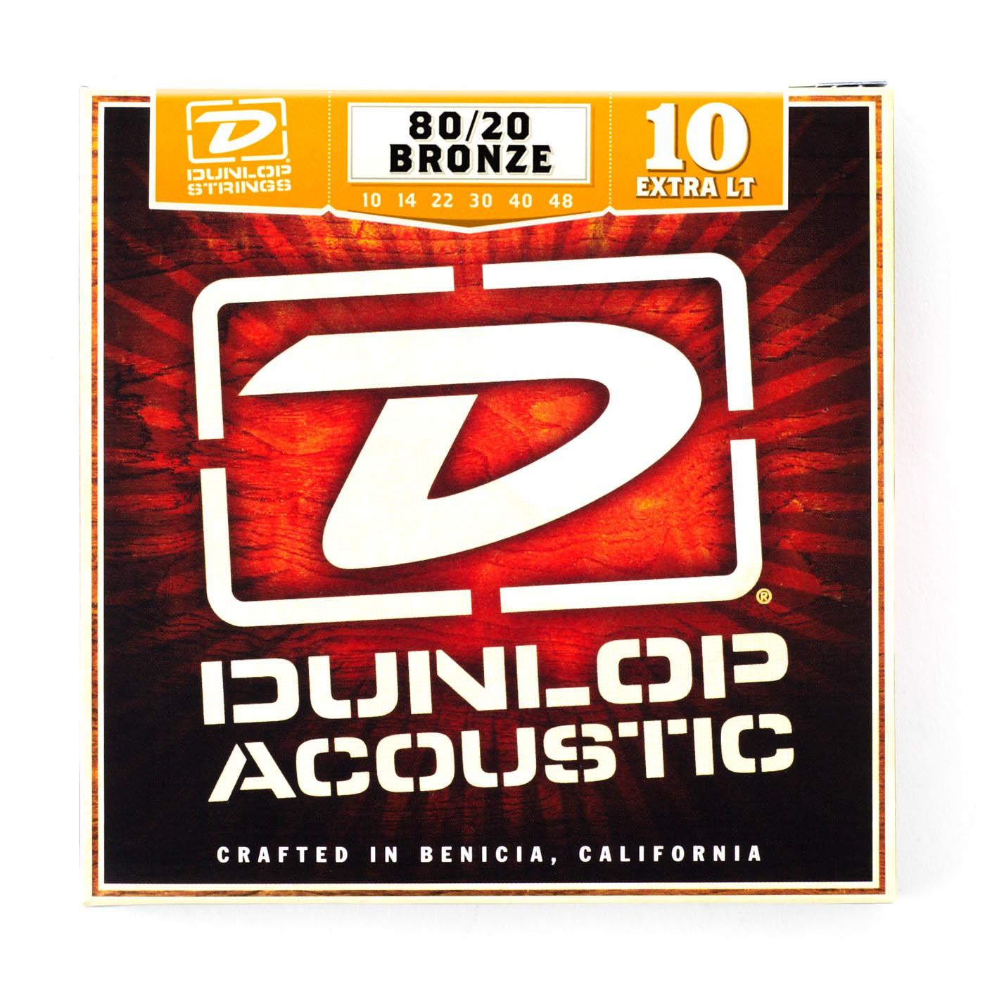 Dunlop DAB1048  010  048 Bronze Extra Light