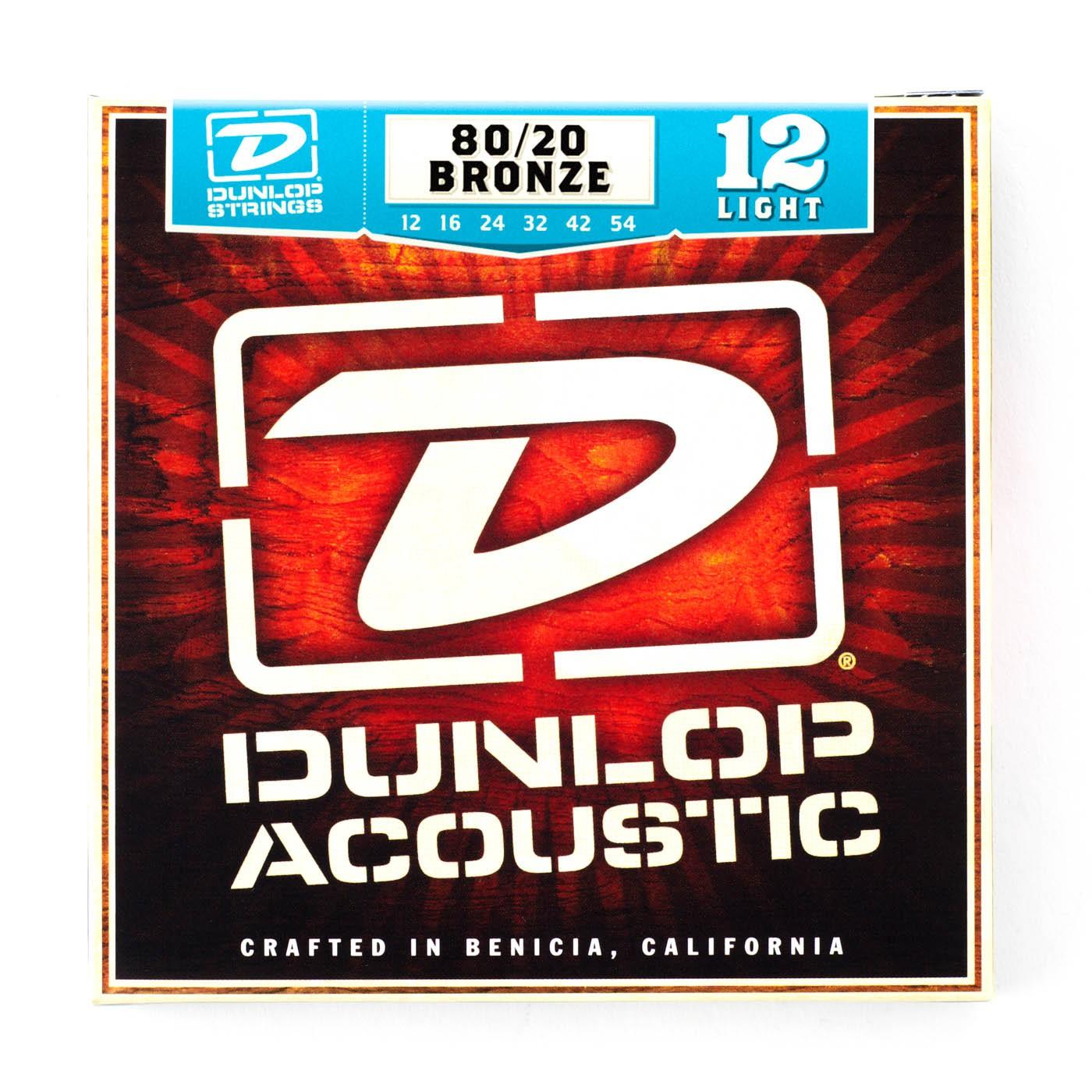 Dunlop DAB1254  012  054 Bronze Light