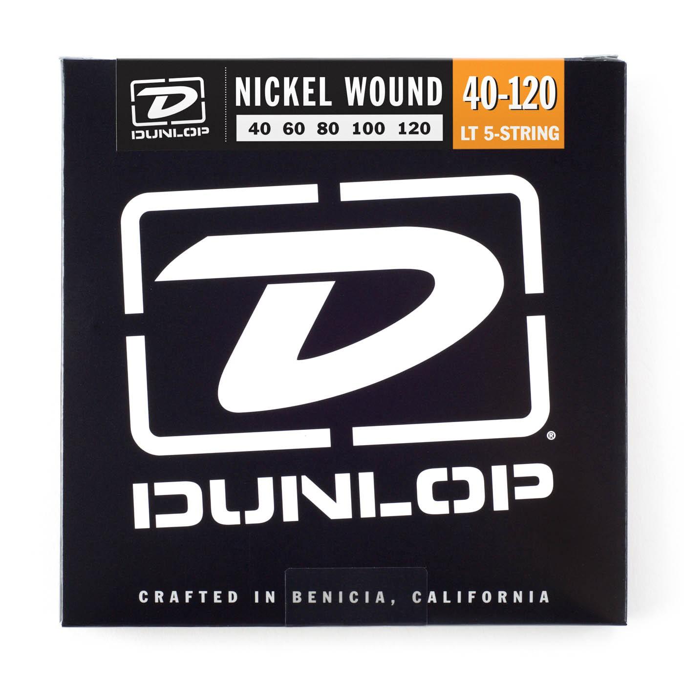 Dunlop DBN40120  040    120 Longscale Nickel Pl