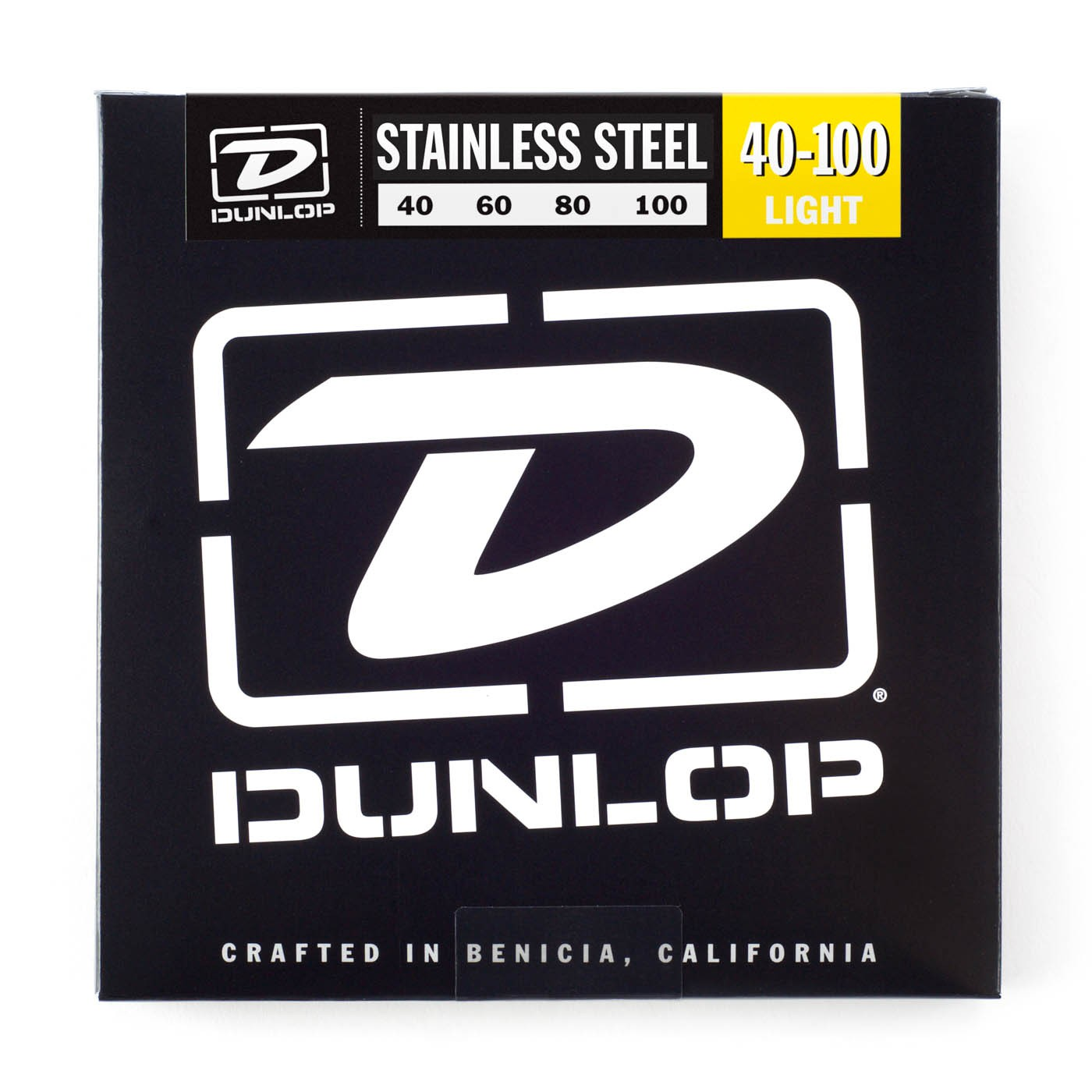 Dunlop DBS40100  040    100 Longscale Stainless