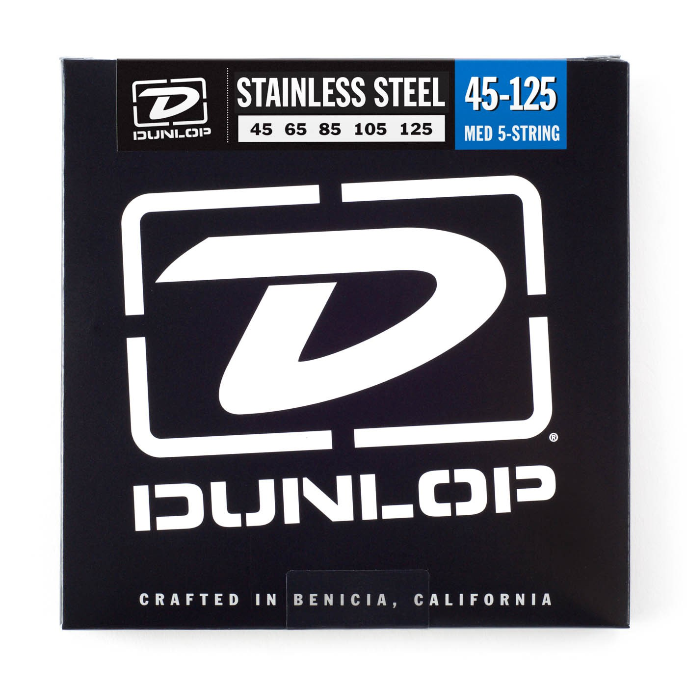 Dunlop DBS45125  045    125 Longscale Stainless