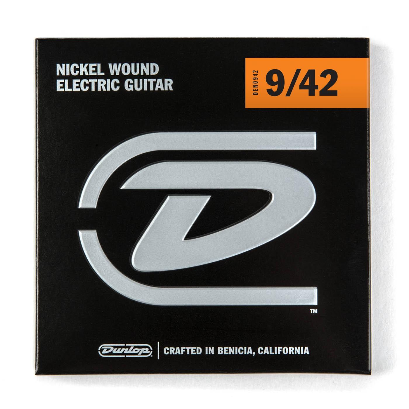Dunlop DEN0942  009    042 Nickel Plated Steel