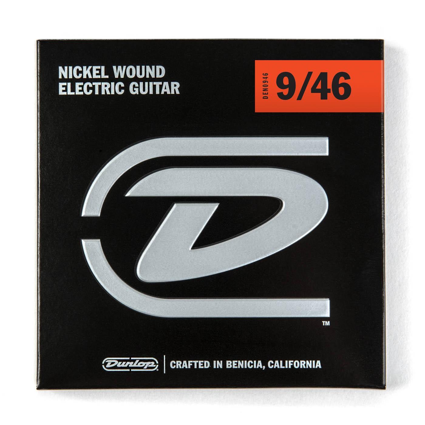 Dunlop DEN0946  009    046 Nickel Plated Steel