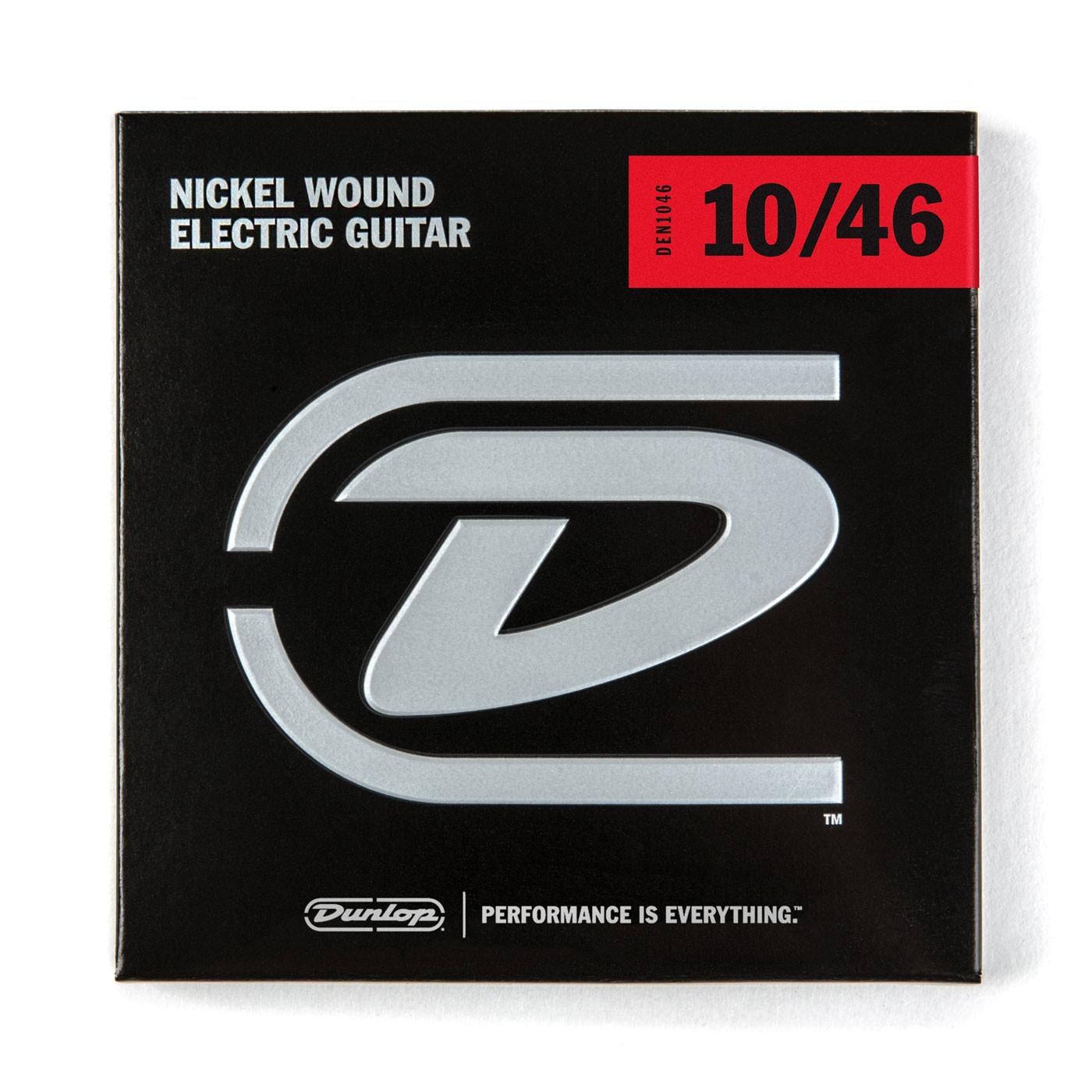 Dunlop DEN1046  010    046 Nickel Plated Steel