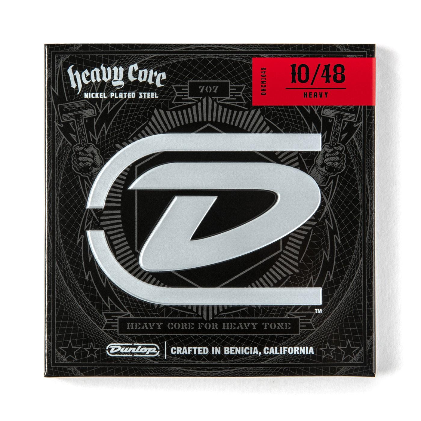 Dunlop DHCN1048  010    048 Heavy Core Nickel Pl