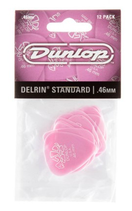 Dunlop Delrin  500  Standard  46mm 12er Bag
