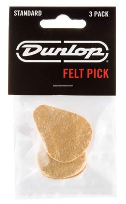 Dunlop Felt Pick Standard 3 20mm 3er Bag