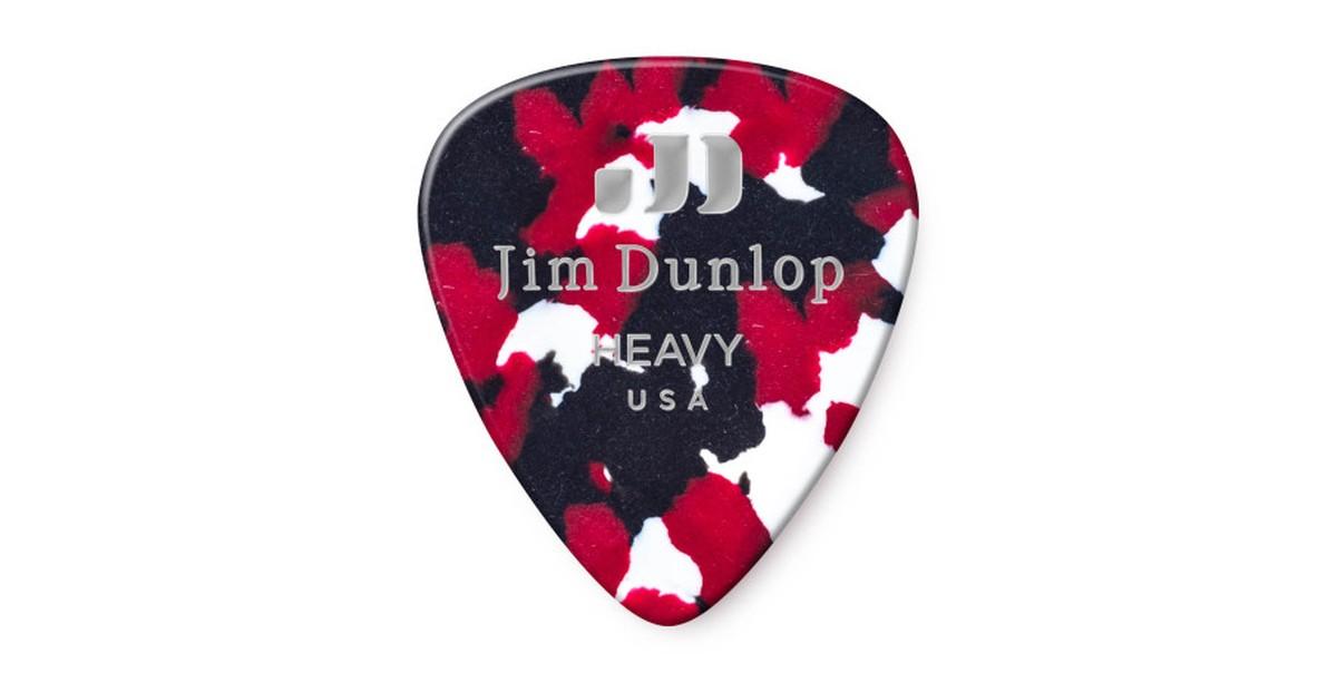Dunlop Genuine Celluloid Confetti Heavy 12er