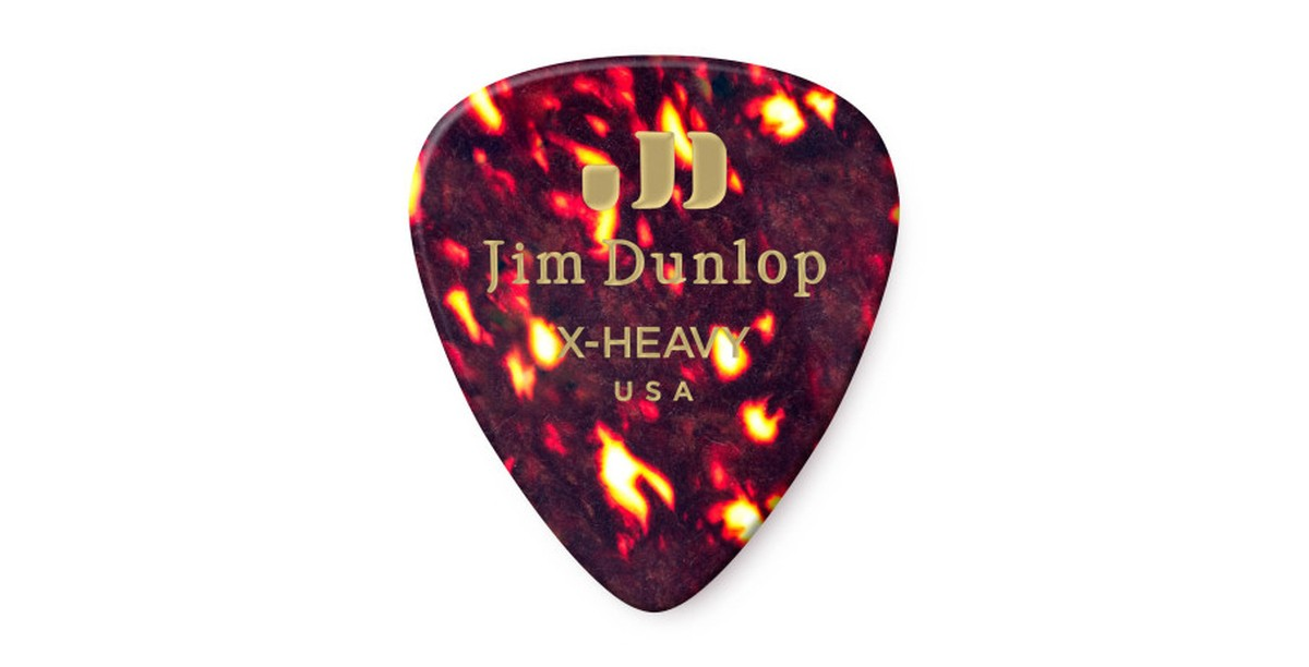 Dunlop Genuine Celluloid Shell Extra Heavy 12er
