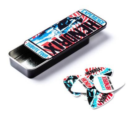 Dunlop Hendrix Tin Box Tribute Tour 12 Picks