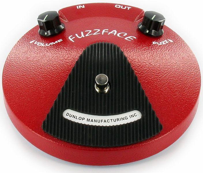 Dunlop JD F2 Fuzz Face Red