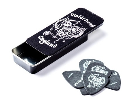 Dunlop Motorhead Tortex Tin Box 6 Picks Warpig  88
