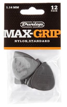 Dunlop Nylon Max Grip Std 1 14mm 12er Bag 449P