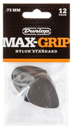 Dunlop Nylon Max Grip Std  73mm 12er Bag 449P