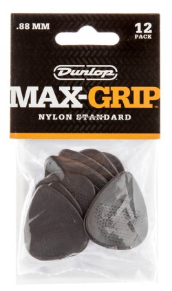 Dunlop Nylon Max Grip Std  88mm 12er Bag 449P