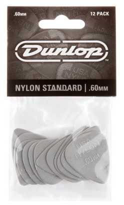 Dunlop Nylon Standard  60mm 12er Bag 44P 60