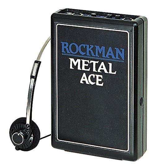 Dunlop ROCK MA Rockman Metal Ace Headphone Amp