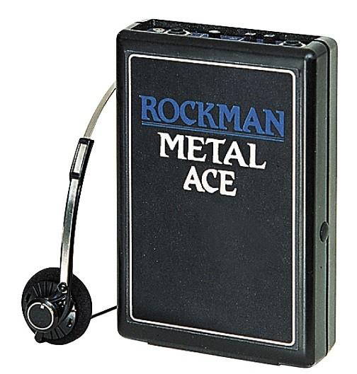 Dunlop ROCK MA Rockman Metal Ace Headphone Amp