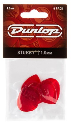 Dunlop Regular Stubby 1 0mm 6er Bag 474P1 00