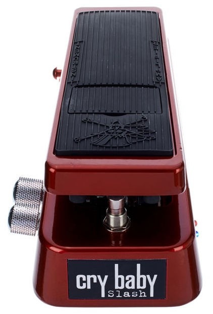 Dunlop SW 95 Crybaby Slash Signature Wah Red