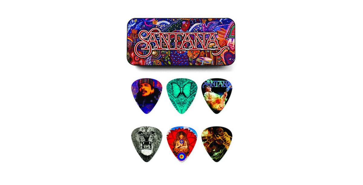 Dunlop Santana Tin Box 6er Medium