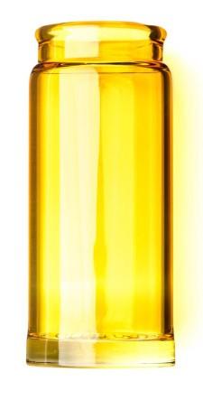 Dunlop Slide 278 Blues Bottle Yellow  L