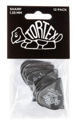Dunlop Tortex Sharp 1 35mm Black 12er Bag