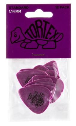 Dunlop Tortex Standard 1 14mm 12er Bag 418P1 14