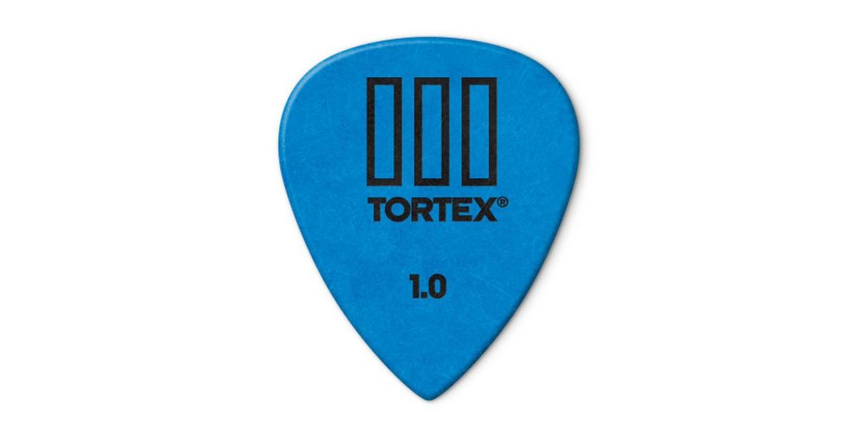 Dunlop Tortex TIII 1 0mm Blue 12er Bag