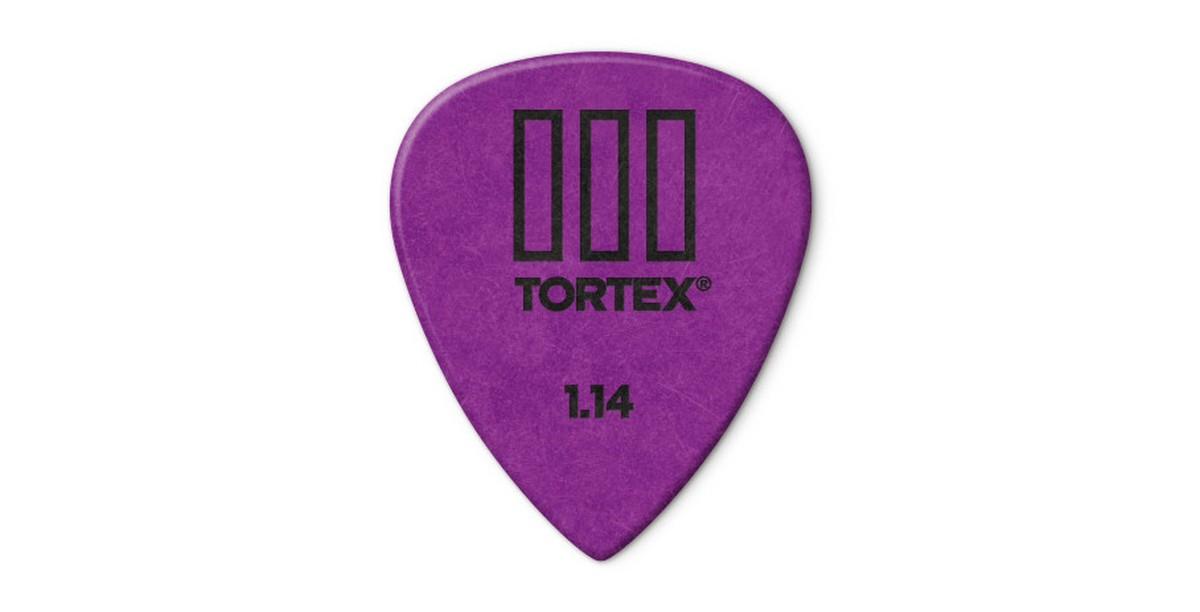 Dunlop Tortex TIII 1 14mm Purple 12er Bag