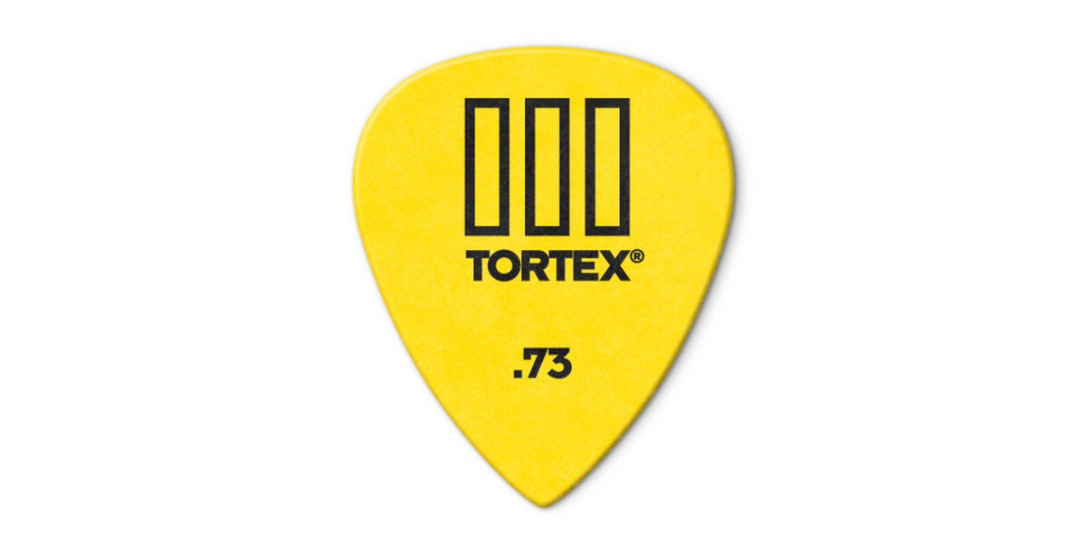 Dunlop Tortex TIII  73mm Yellow 12er Bag