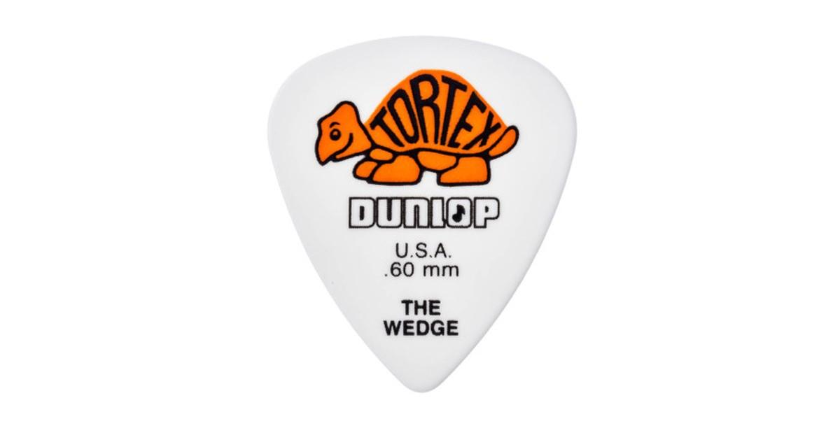 Dunlop Tortex Wedge  60mm orange 12er Bag
