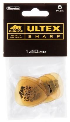 Dunlop Ultex Sharp 1 4mm 6er Bag 433P1 4