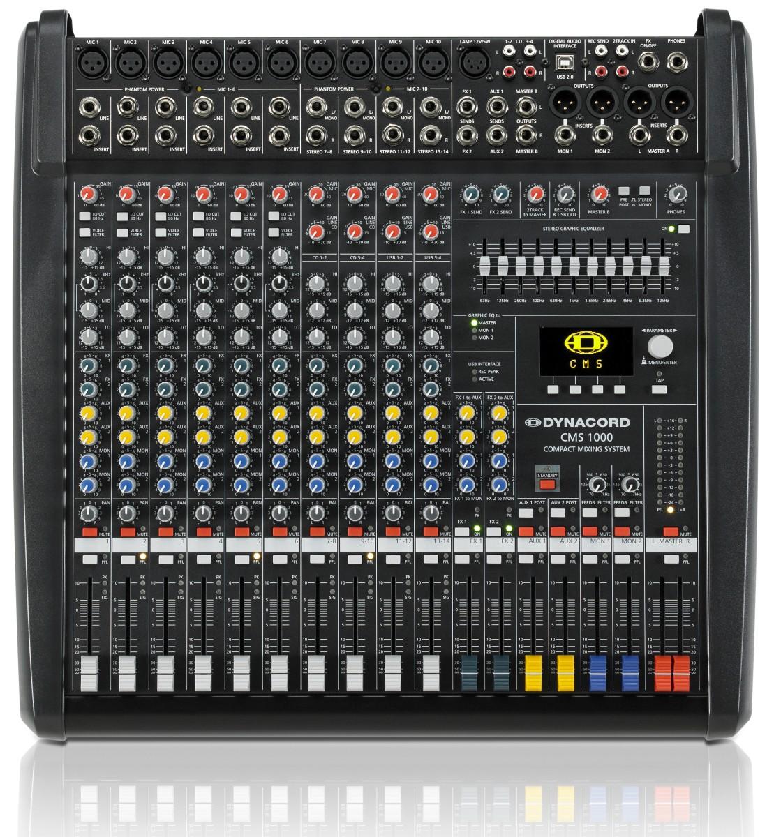 Dynacord CMS 1000 MK3 10 Kanal Kompaktmixer