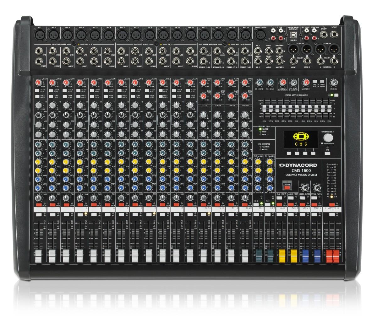 Dynacord CMS 1600 MK3 16 Kanal Kompaktmixer