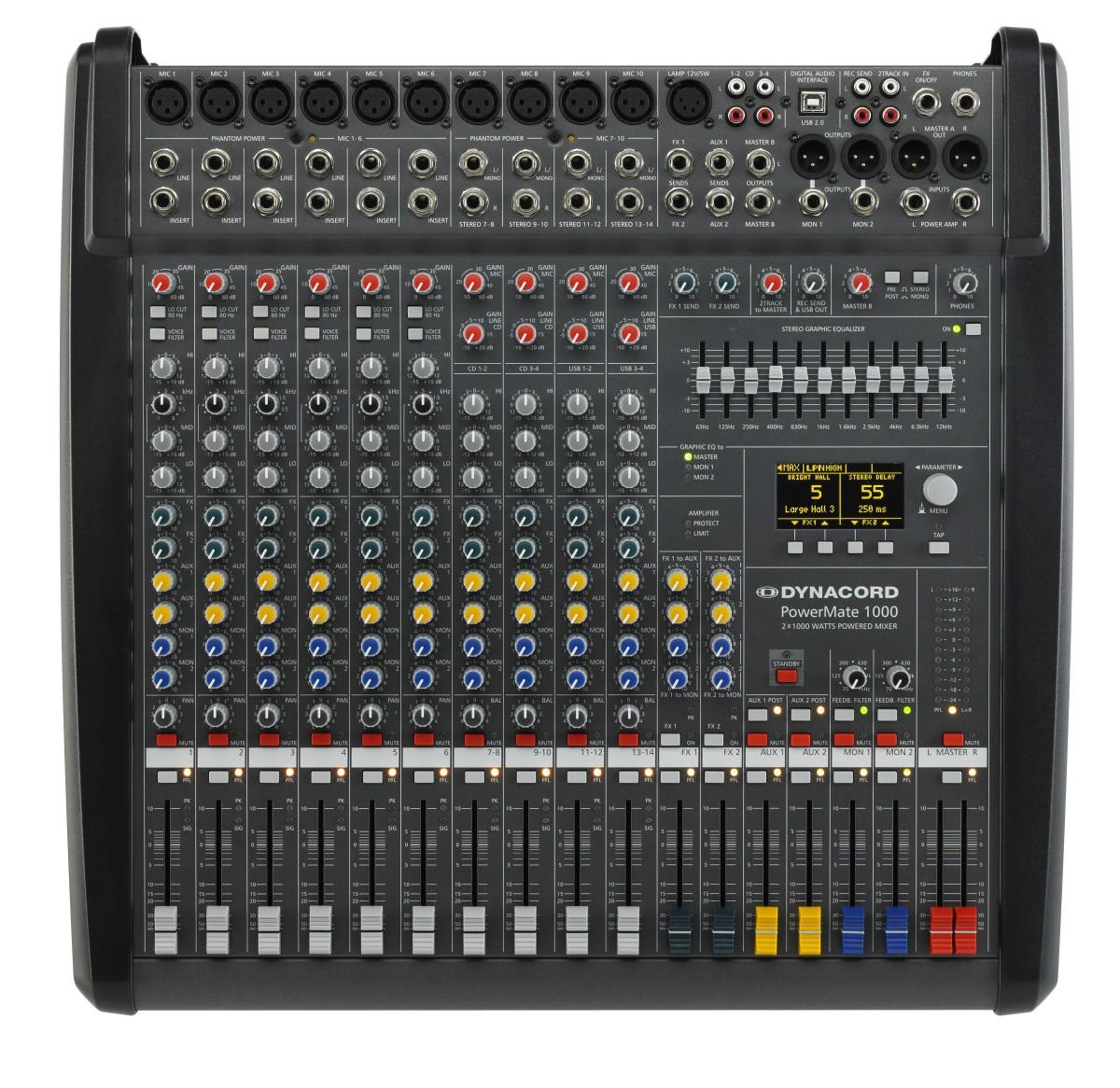 Dynacord PowerMate 1000 MK3 10 Kanal Powermixer