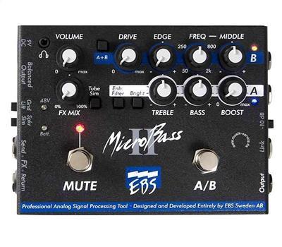 EBS MBII Micro Bass II Preamp